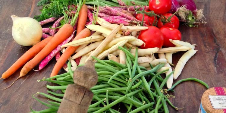 Fresh market ingredients #Provence