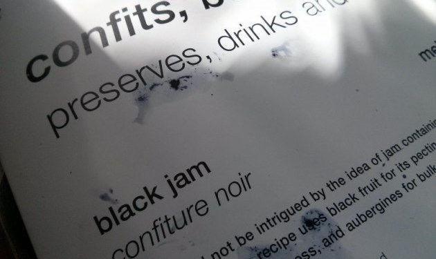Black Jam Recipe