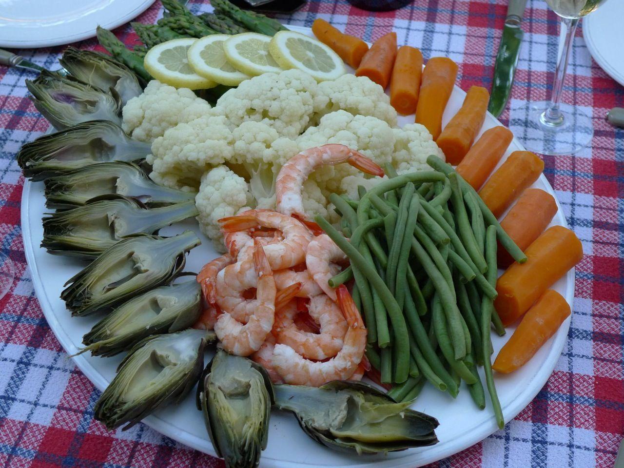 Grand Aïoli Provencal Classic Aioli Provence Recipes @GingerandNutmeg