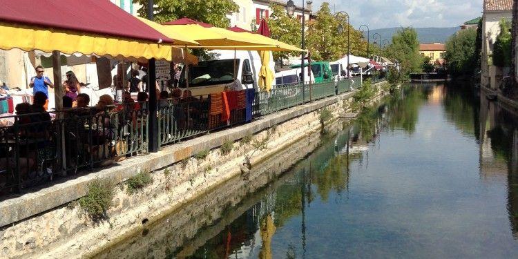 Canal Ile sur la Sorgue #Provence @Bfblogger2013