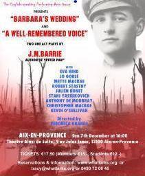 English Theatre Christmas carols
