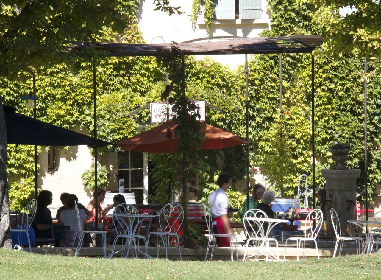 Chateau la Coste cafe #ProvenceWines #Restaurants @PerfectlyProvence