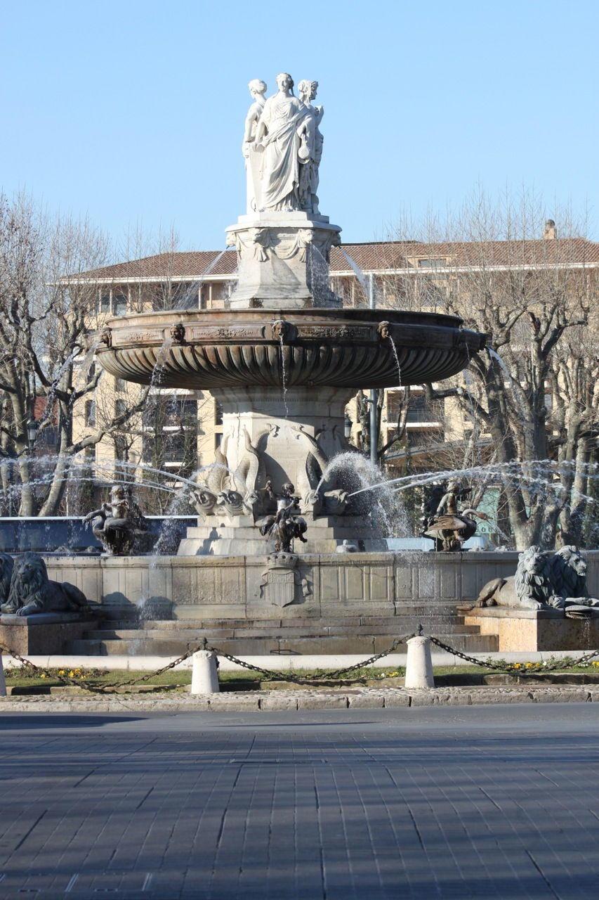 La Rotunde Aix-en-Provence #AixenProvence #Provence #CityofWater