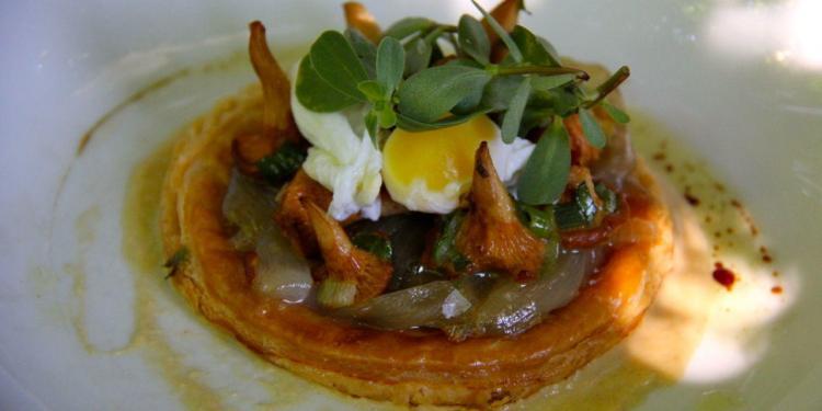 Tarte aux Girolles La Petite Maison #Provence #Restaurants @PerfectlyProvence