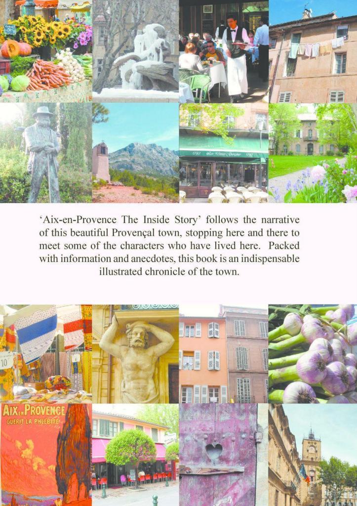 Aix en Provence The Inside Story Back cover via @AixCentric Lynne Alderson
