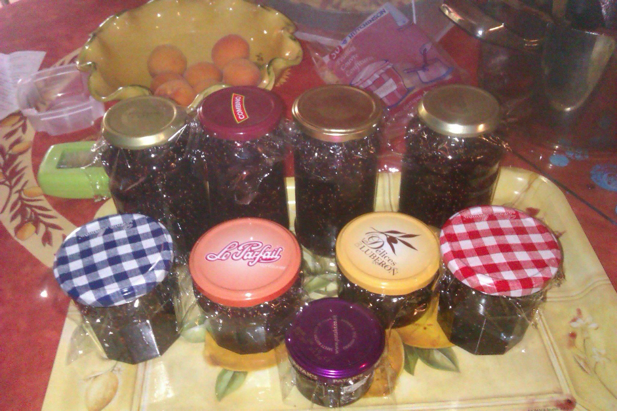 Fig jam #Black figs Noire de Caromb @hildast