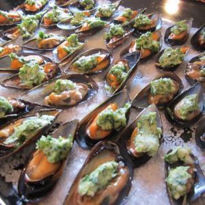 Moules farcies à la provençale via @ProvenceCook