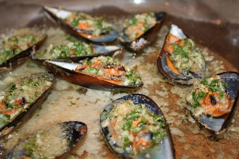 Mussels Provencal Moules farcies à la provençale via @ProvenceCook