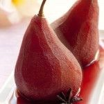 Poached Pears Poires au vin Cooking Classes @ProvenceCook