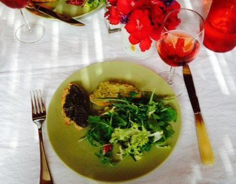 Olive Tapenade Salad Cooking Classes #Provence #Gourmet @ProvenceCook