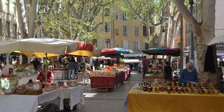 Aix French Food Market Place Richelme Aix-en-Provence @DreamyProvence