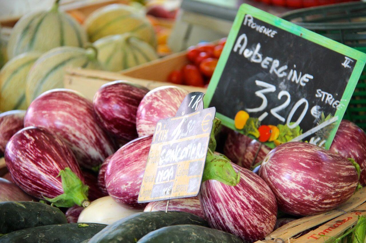 Eggplants Provence Markets