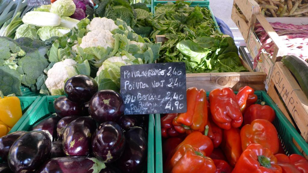 Eggplants in #Provence #Markets