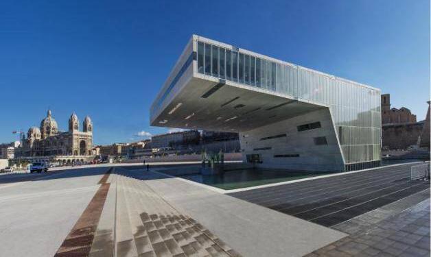 Villa Mediterranée #Marseille @AixCentric