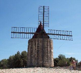 Fontvielle Windmill #Fontvielle #Provence