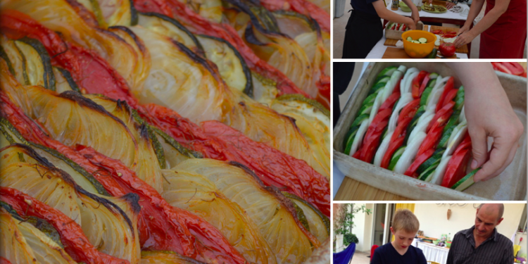 Vegetable Tian #TasteProvence @ProvenceCook