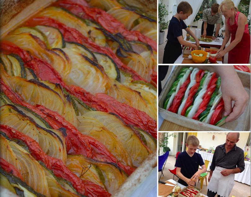 Vegetable Tian #TasteProvence @ProvenceCook