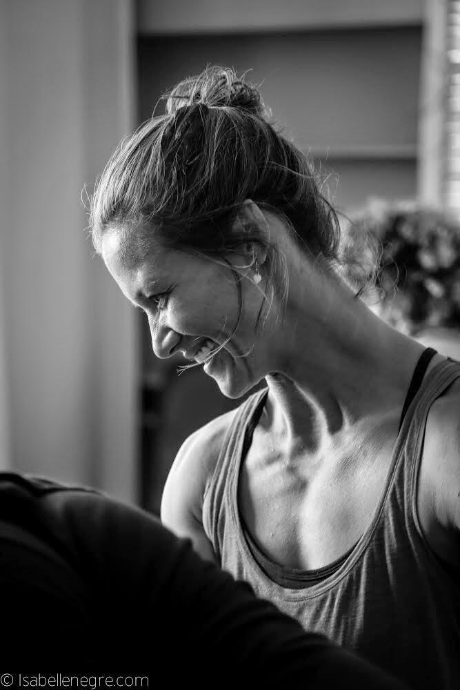 Sabrina Sadeghi Millecamps #Yoga #Provence