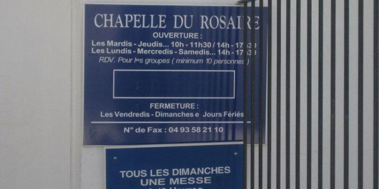 Chapelle du Rosaire #Matisse #Vence #Provence