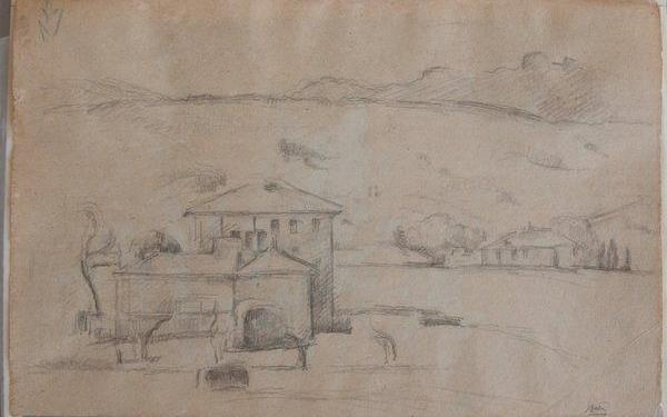 new cezanne drawing #Cezanne #Provence