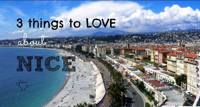3 things to love about #Nice @FibiTee