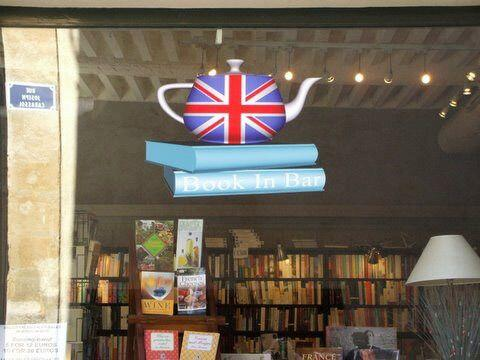 Book in Bar English Books Aix en Provence via @Aixcentric