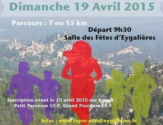Course Pédestre DI QUIEU BLANC #Eygalieres