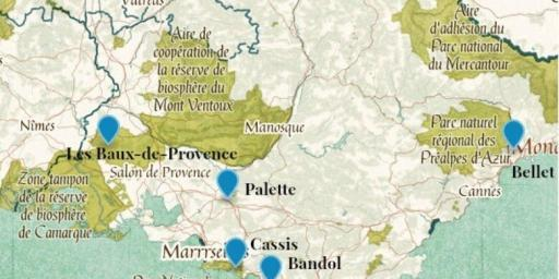 Provence Wine AOCs #WinesofProvence @Rivieragrape