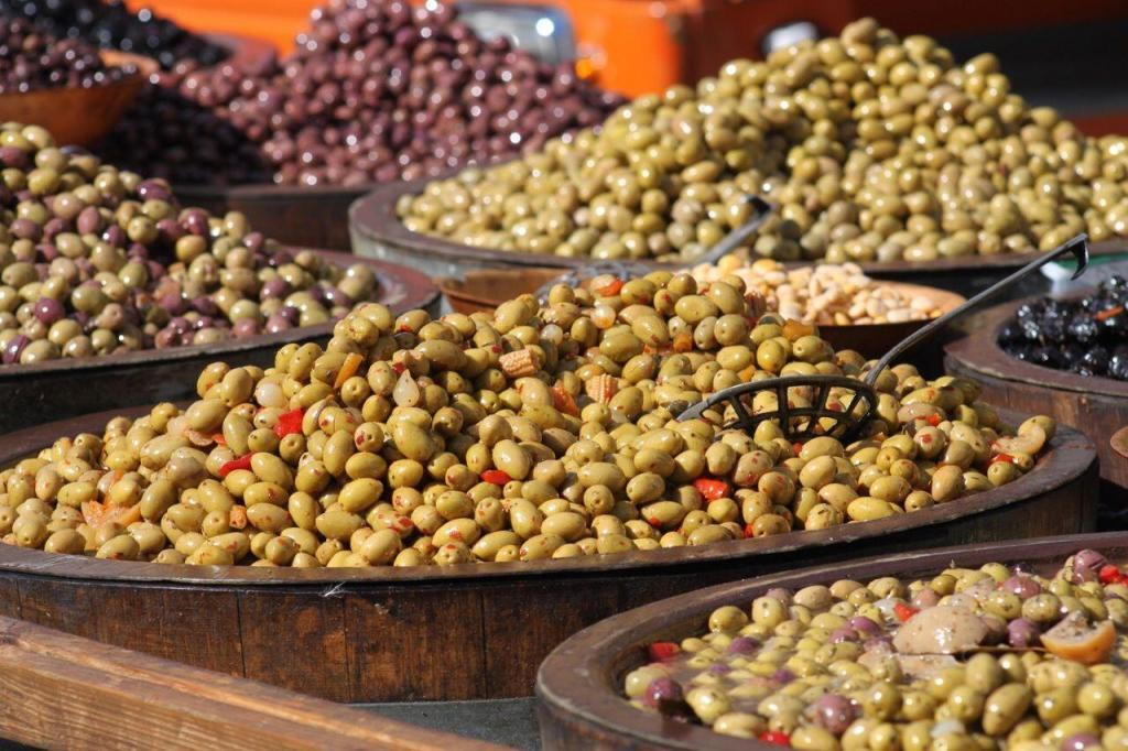Olives #Provence #Markets