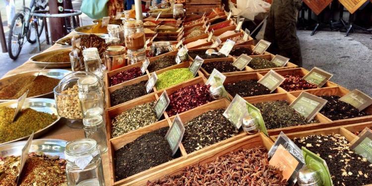 Provence Market Spices #Provence #Markets