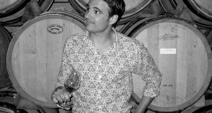 Bastien Tardieu, Lead Oenologist. Photo by Pamela O'Neill #WinesofProvence @Susan_PWZ
