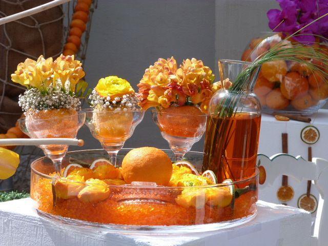 Orange Decorations #BarsurLoup #OrangeFestival @FibiTee