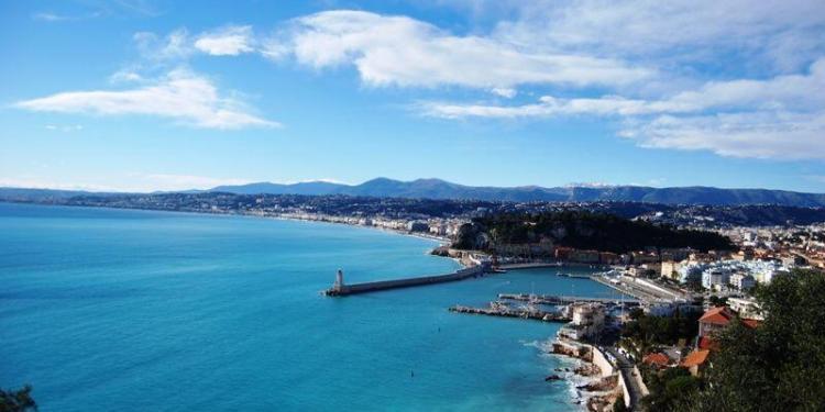 View of Nice #Nice #CotedAzur @Rivieragrape #Provence