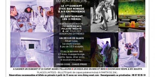 Ice Bar Arctic Room Aix-en-Provence