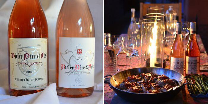 Bieler rosé and Quail #WinesofProvence #VinsdeProvence @Susan_PWZ