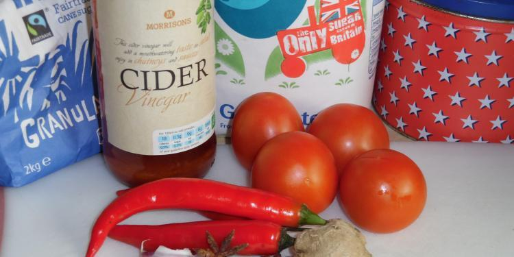 Ingredients for Tomato Jam by @Hildast