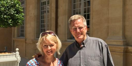 Discover Provence Sarah and Rick Steves @AboutProvence
