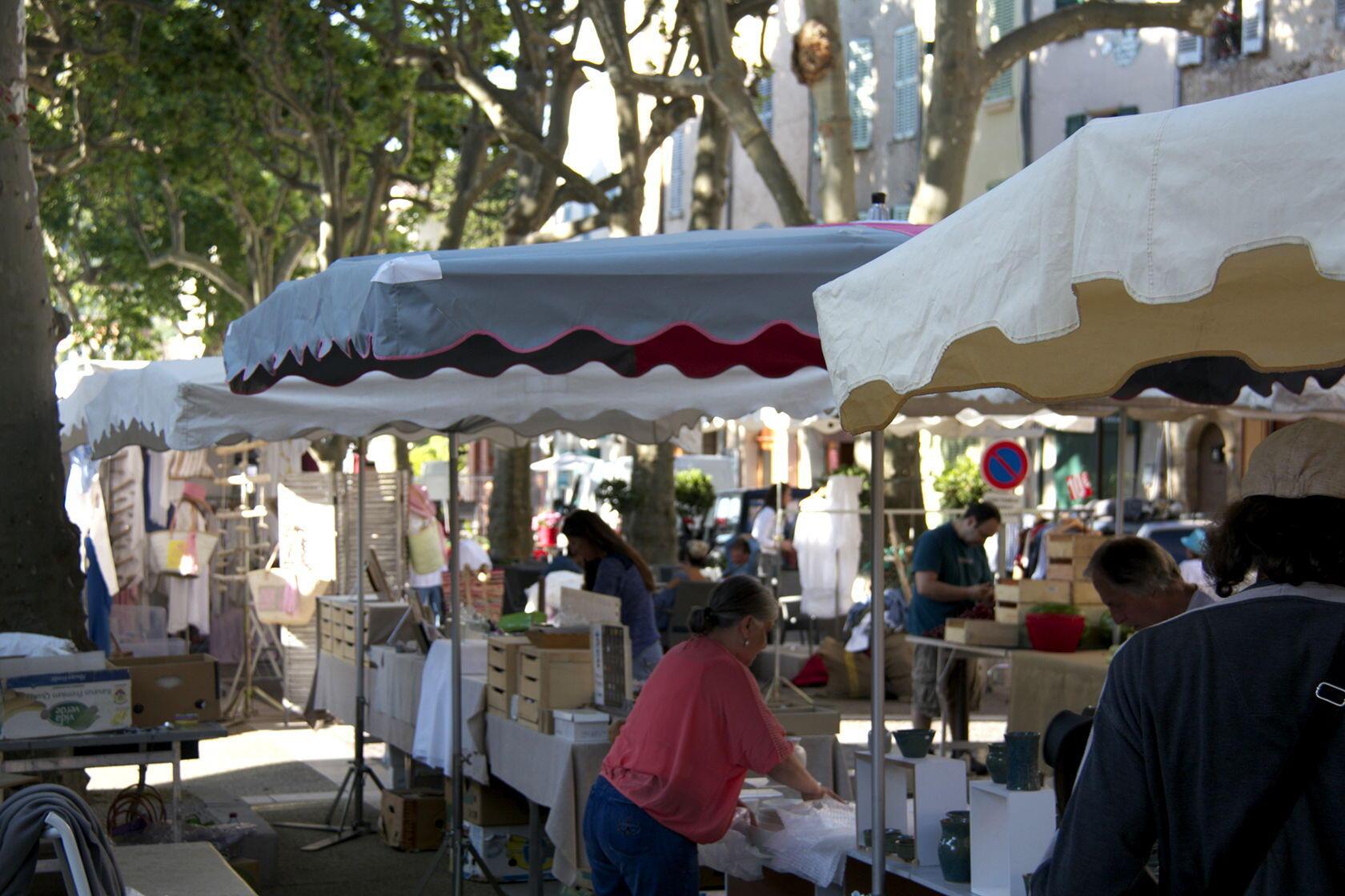 Market Day Cotignac Var Provence