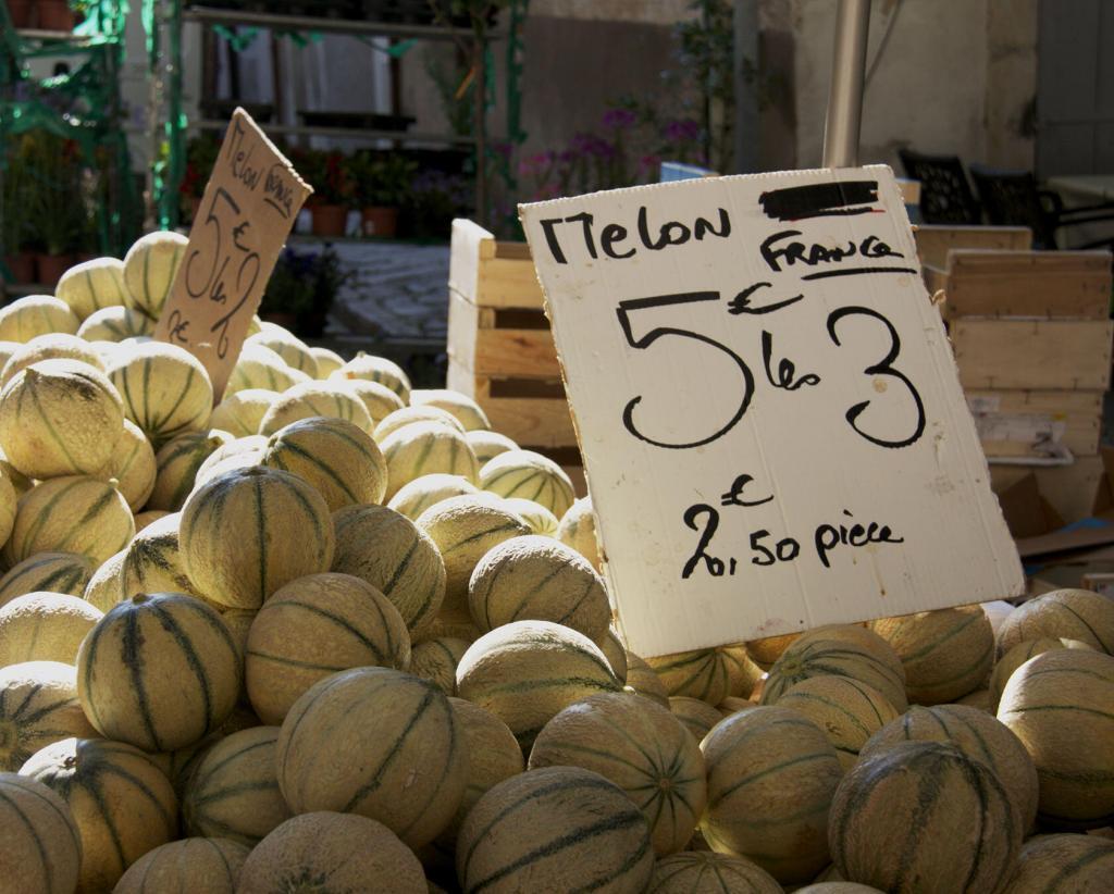 Melons Market Day Cotignac #Cotignac #Var #Provence