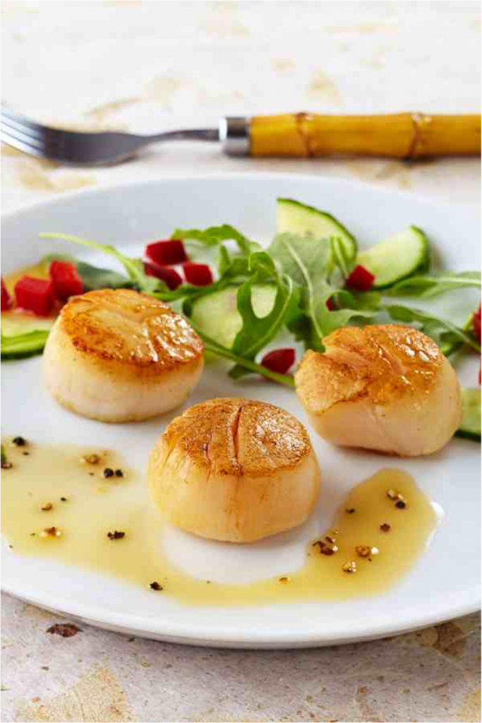 Sauteed Scallops #FoodStyling #afoodstylistslife @VivaldoGroup
