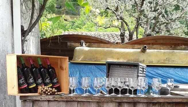 Le Petit Vigneau in Saint-Paul de Vence #WinesofProvence @RivieraGrape