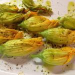 Stuffed Zucchini Blossoms @ElizabethBard Recipe