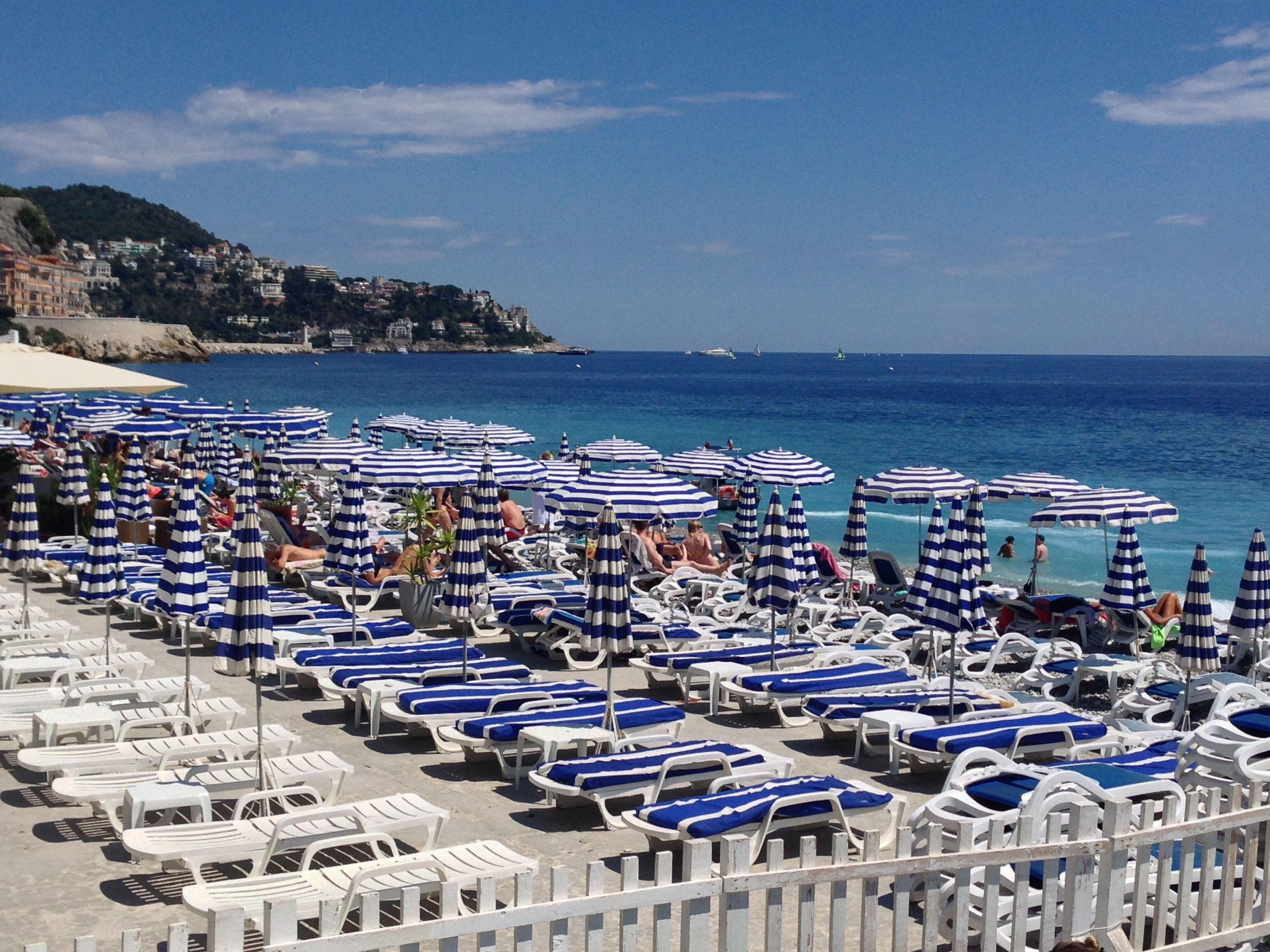 Nice Beaches French Riviera Cote d'Azur