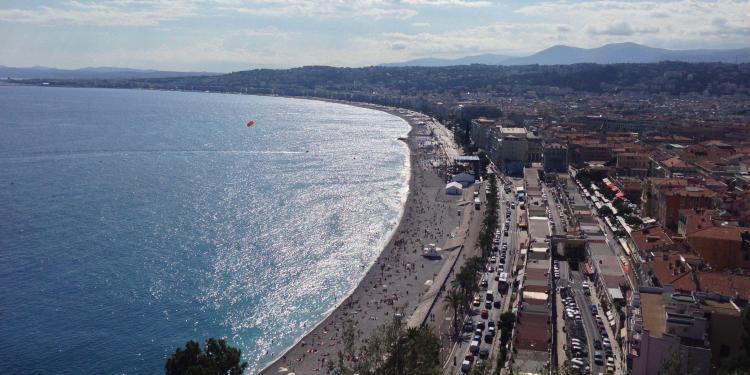 Nice Baie des Anges #Nice06 #CotedAzur @PerfProvence
