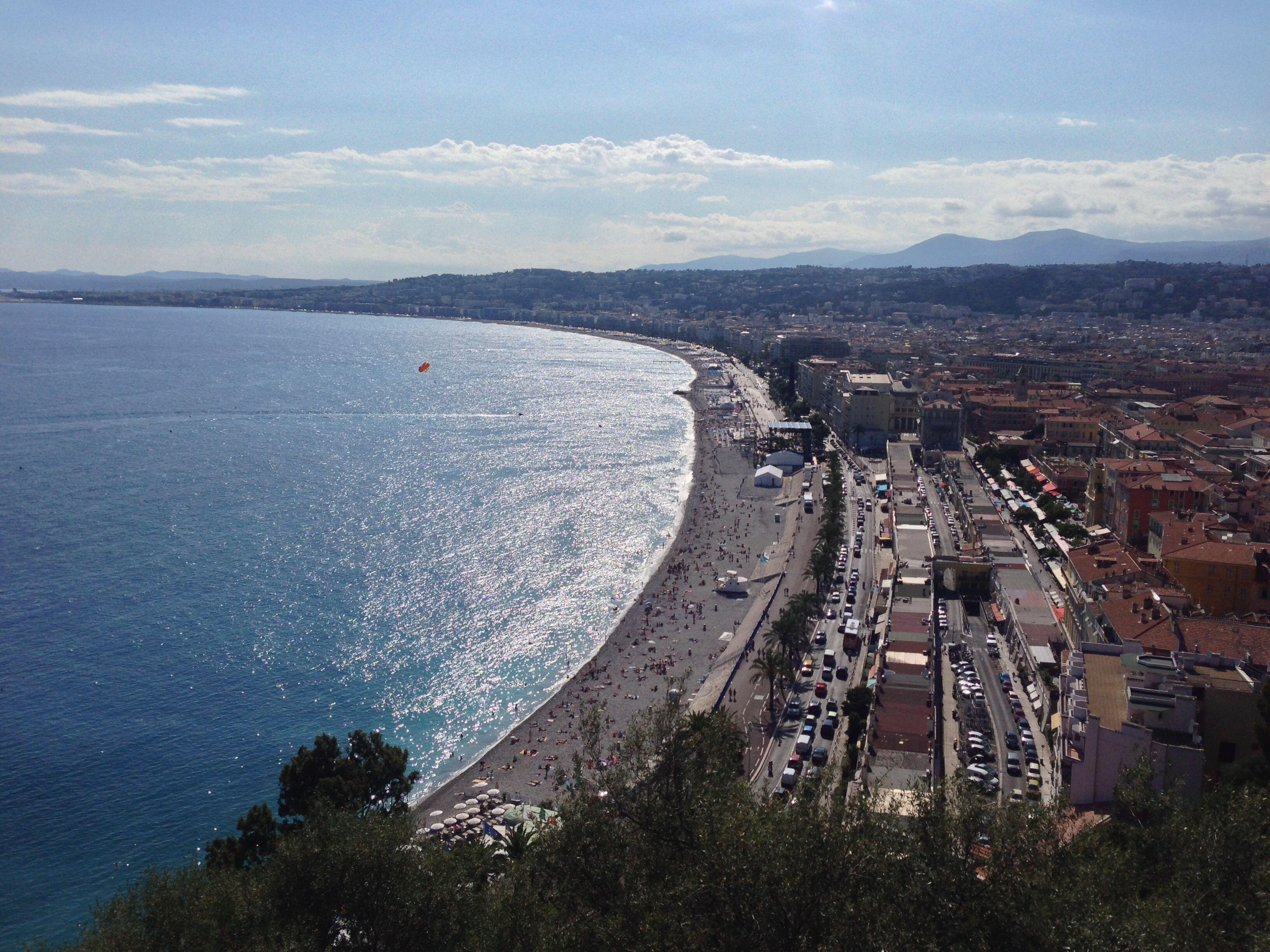 Nice Baie des Anges French Riviera Cote d'Azur