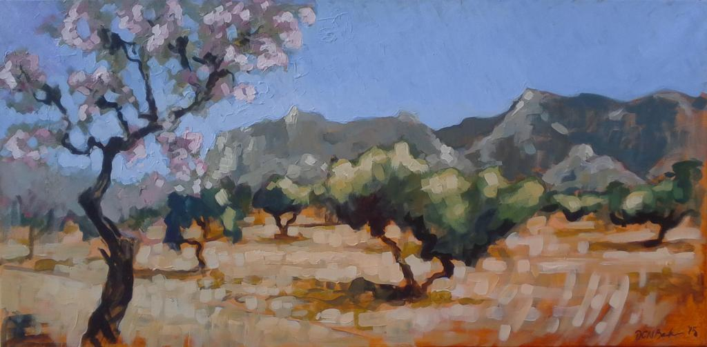 Painting in the South #Artists #Provence by Duncan Barker