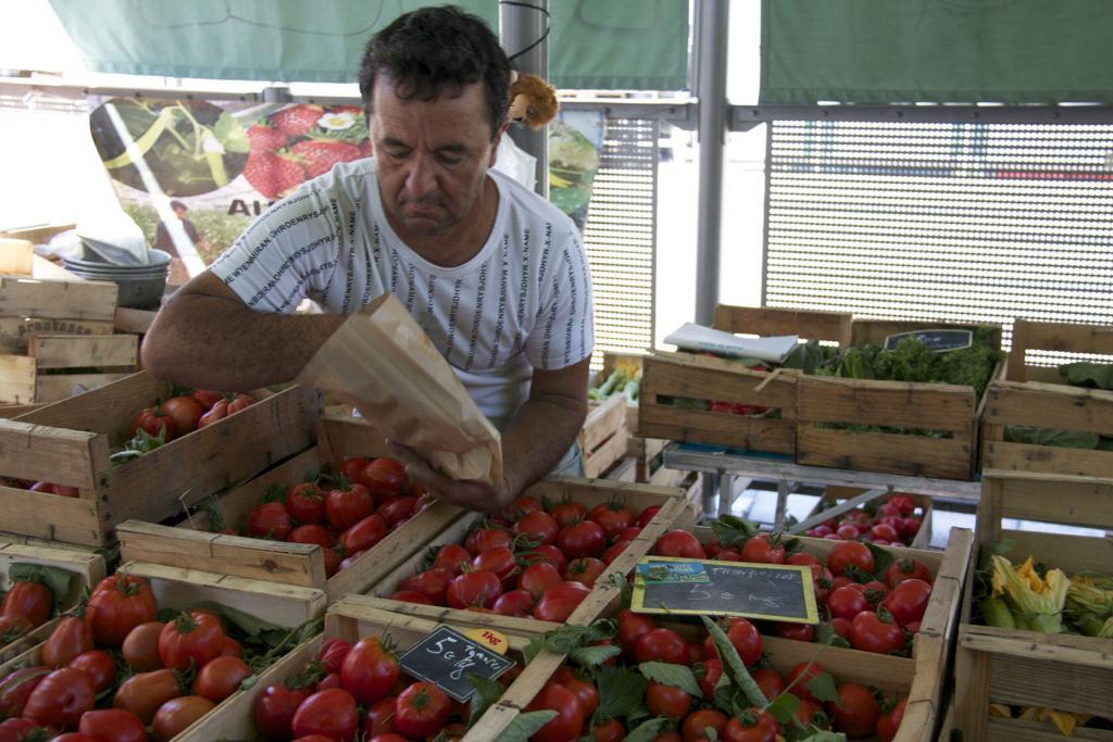Market tomatoes #Nice #Market #CotedAzur