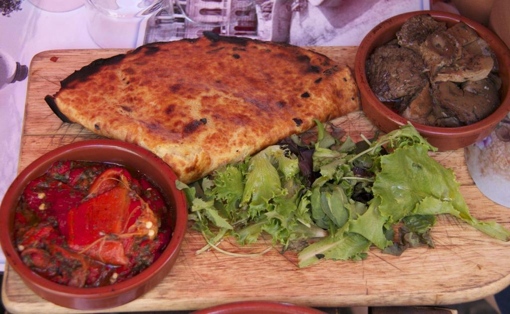 Petits Farcis and Socca #FoodTour #Nice #CotedAzur #Nice06