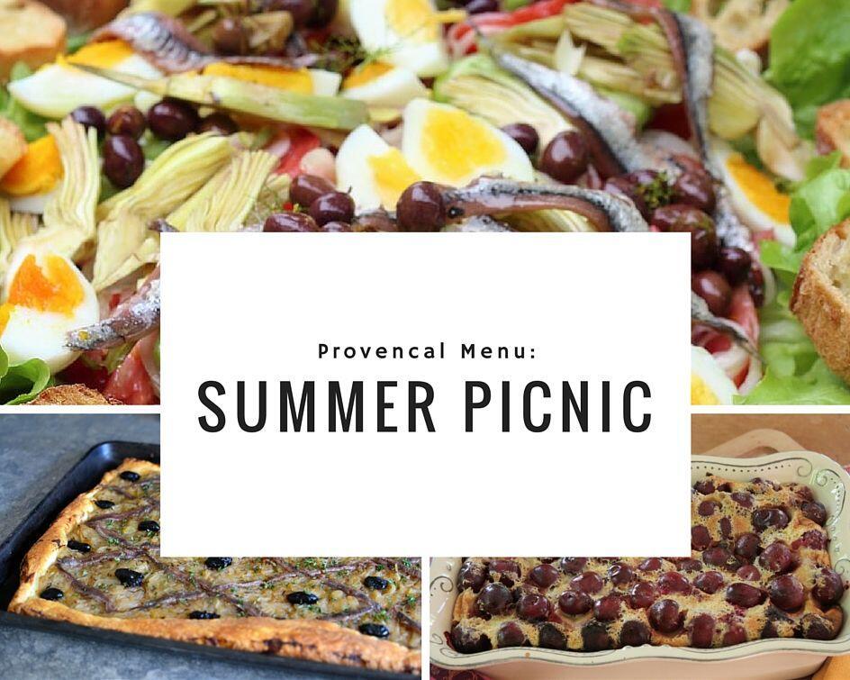 Provencal Menu Summer Picnic #TastesofProvence @PerfProvence