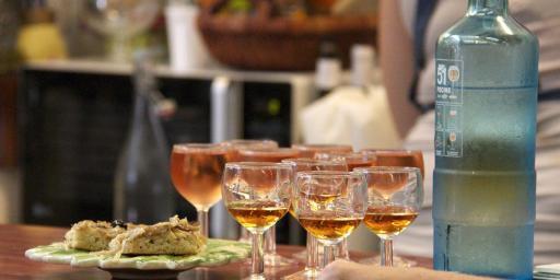 Food Tour Nice Rosé Pissaladiere Cote d'Azur @PerfProvence